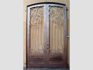 Дворна врата от ковано желязо (1)