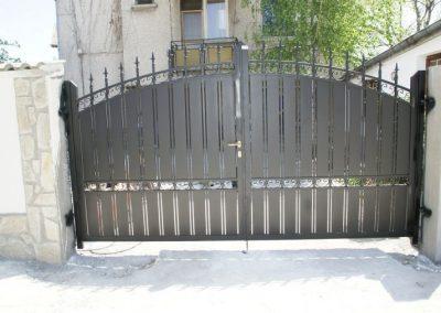 Дворна врата от ковано желязо (150)