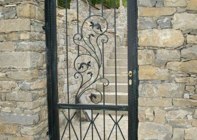 Дворна врата от ковано желязо (148)