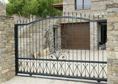 Дворна врата от ковано желязо (147)