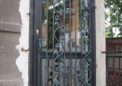 Дворна врата от ковано желязо (145)