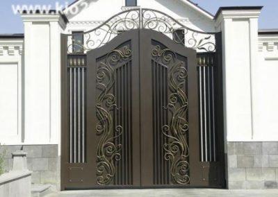 Дворна врата от ковано желязо (142)