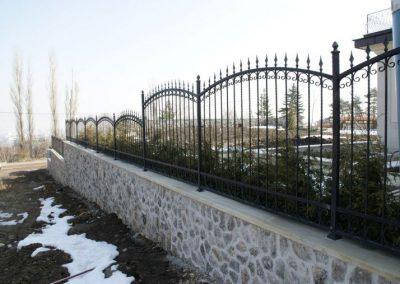 Ограда от ковано желязо (43)
