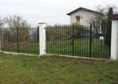 Ограда от ковано желязо (33)
