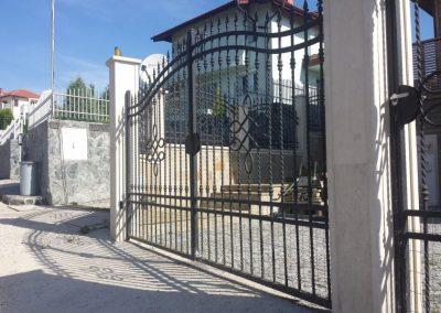 Ограда от ковано желязо (28)