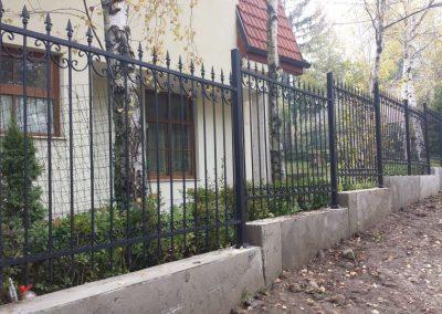 Ограда от ковано желязо (27)