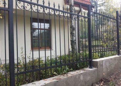 Ограда от ковано желязо (26)