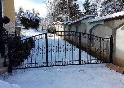 Ограда от ковано желязо (25)