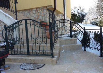 Ограда от ковано желязо (24)