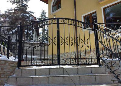 Ограда от ковано желязо (23)
