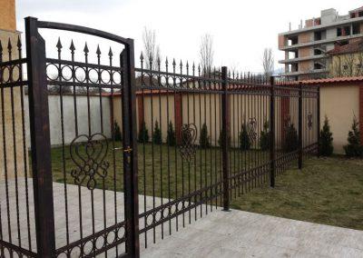 Ограда от ковано желязо (22)