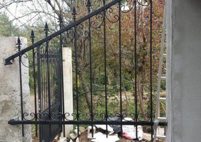 Ограда от ковано желязо (18)