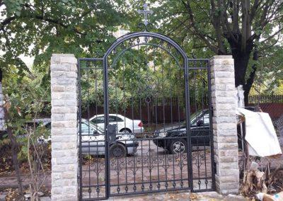 Ограда от ковано желязо (17)