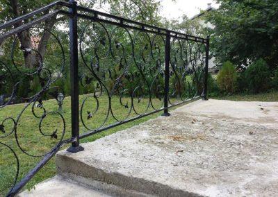 Ограда от ковано желязо (10)