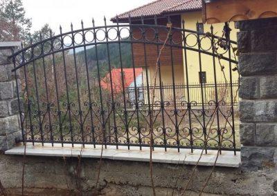 Ограда от ковано желязо (8)