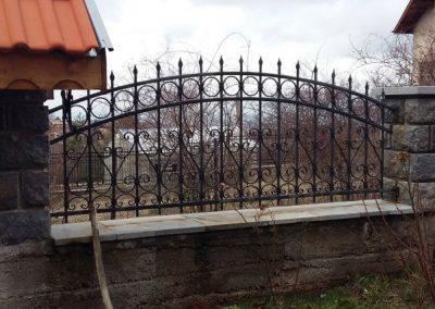 Ограда от ковано желязо (7)