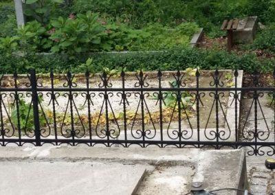 Ограда от ковано желязо (4)