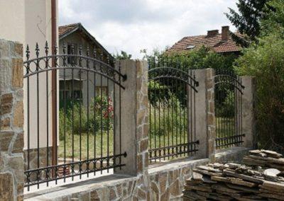 Ограда от ковано желязо (3)