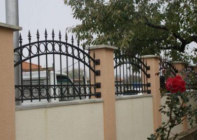 Ограда от ковано желязо (38)