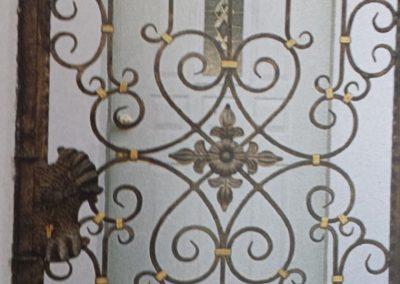 Порта от ковано желязо (80)