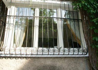 Решетки за прозорец от ковано желязо (23)