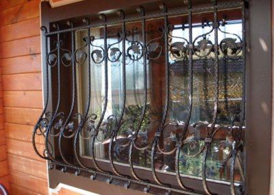 Решетки за прозорец от ковано желязо (28)