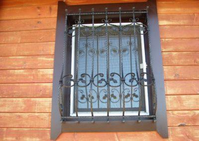 Решетки за прозорец от ковано желязо (27)
