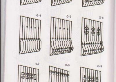 Решетки от ковано желязо (20)