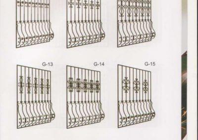 Решетки от ковано желязо (19)