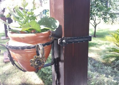 Стойка от ковано желязо (11)