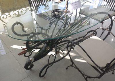 Градински маси и пейки от ковано желязо (1)
